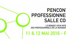 Rencontres Professionnelles Salle Cortot : à vos agendas !