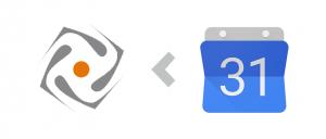 Google Agenda vers Orfeo